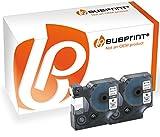 Bubprint 2 Schriftbänder kompatibel für Dymo 45013 S0720530 für Labelmanager 100 120 150 160 200 Labelpoint 100 150 200 250 300 schwarz auf weiß 12mm x 7m