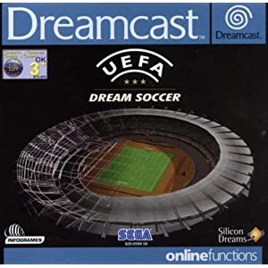 UEFA Dream soccer – Dreamcast – PAL
