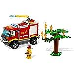 LEGO City Great Vehicles Camioncino Pulizia Strade, con Minifigure dell'Autista, 1 Bidone Della Spazzatura, 1 Pala, 1 Scopa e 1 Banana, Set di Costruzioni per Bambini +5 Anni, 60249  LEGO