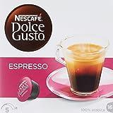 NESCAFÉ Dolce Gusto Espresso Intenso | 16 Kaffeekapseln | Arabica und Robusta Bohnen | Geschmack roter Sommerbeeren und rosa Pfefferbeeren | Aromaversiegelte Kapseln | 1er Pack (1 x 16 Kapseln)