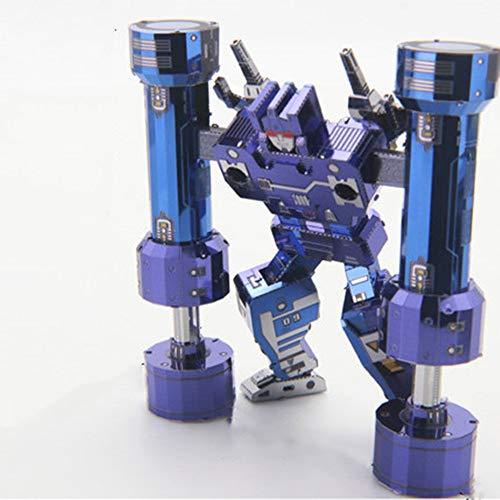 MQKZ Rumble Toy G1 Cinta sónica Tribu deformación dificultad Alta Rompecabezas 3D...