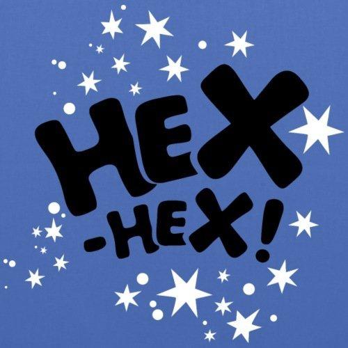 Spreadshirt Bibi Blocksberg Hexspruch Hex Hex Mit Sternen Stoffbeutel Hellblau