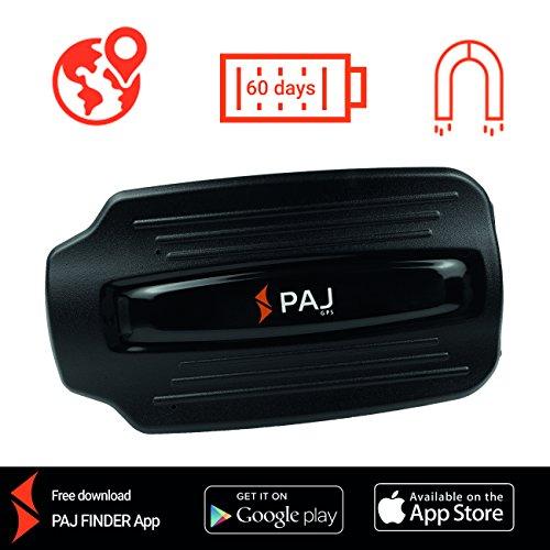 GPS Tracker Peilsender mit Magnet POWER Finder von PAJ Diebstahlschutz Anhängersicherung Auto GPS Sender Ortungsgerät Langzeit 2 Monate - Variante SMS-Ortung