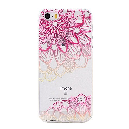 For IPHONE 5S/SE[COLORFUL TPU DTV2]Scratch-Proof Ultra Thin Rubber Gel TPU Soft Silicone Bumper Case Cover -DTPUV202 DTPUV205