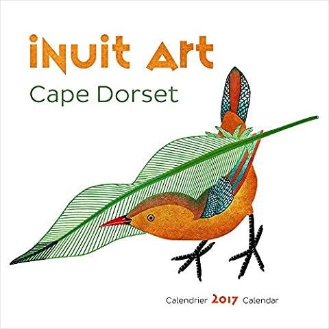 2017 INUIT ART CAPE DORSET MINI CALENDAR U647