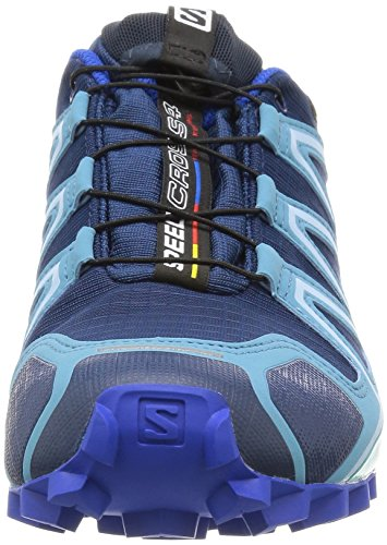 Salomon Speedcross 4 Gtx, Chaussures de Trail Femme Bleu (Blue Depth/Blue Gum/Blue Yonder)
