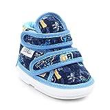 #8: CHIU Chu-Chu Blue Shoes With Double Strap For Baby Boys & Baby Girls