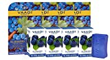 Vaadi Herbals Value Blueberry Facial Bars with Extract of Mint, 25gm x 4