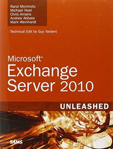 Exchange Server 2010 Unleashed by Rand Morimoto (2009-10-25) par Rand Morimoto;Michael Noel;Chris Amaris;Andrew Abbate;Mark Weinhardt