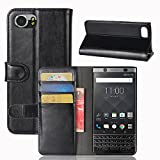 OFU® BlackBerry Keyone Handy Holster, Clamshell, stilvolles Aussehen.BlackBerry Keyone hülle(schwarz)