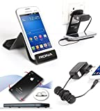 Riona Mobile holder A5S Black + Hanger Stand + Cable Organizer + Scratch Guar... A5SB-C best price on Amazon @ Rs. 546