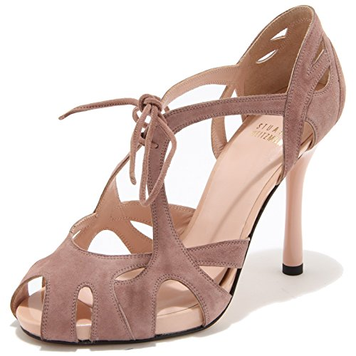 86119 sandalo STUART WEITZMAN OVERALL scarpa donna shoes women [37.5]