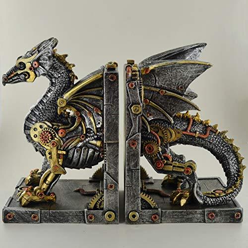 prezents. com Meccanico Dragon Cog fermalibri incredibilmente Dettagliato Altare Ornamento per Fan del Fantasy & Steampunk