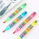 Outtybrave - Lápices de Cera para Manualidades (2 Unidades, 20 Colores)