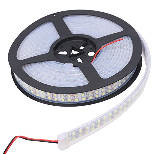 XKTTSUEERCRR 5m 3528 doble Tira Luces flexible IP67 impermeable 1200LED - Blanco Frío