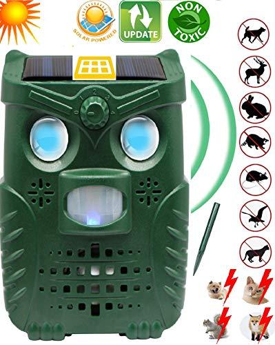 N3 ZELEK Cat Repellent 2019 Ultraschall Fox Repellent Cat Scarer Fox Abschreckung Cat Abschreckung Garden Cat Repeller Pest Abschreckung Dog Repeller Garden Ultrasonic Scarer - Garden Pest-repeller
