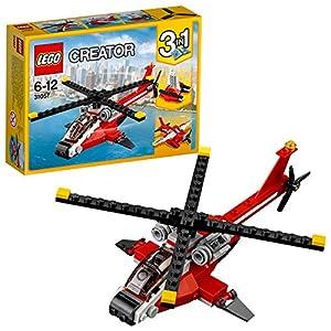 LEGO- Creator Elicottero di Soccorso Costruzioni Piccole Gioco Bambina Giocattolo, Multicolore, 31057  LEGO