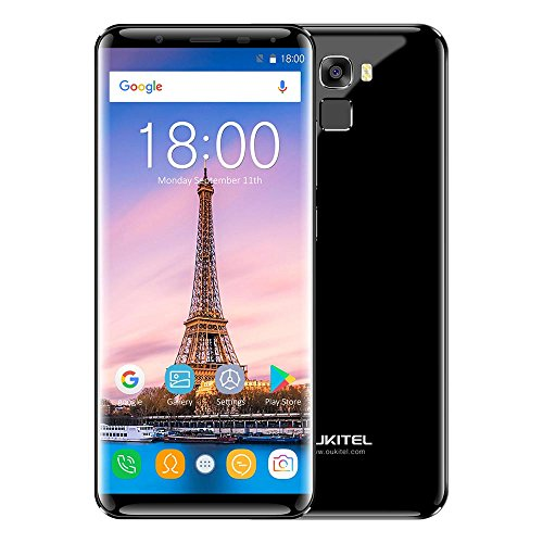 OUKITEL K5000 5.7 Inch 4G LTE Smartphone with 2.5D HD+ 18:9 Aspect Ratio Full Screen 4GB RAM + 64GB ROM MTK6750T 1.5GHz Octa Core Android 7.0 16MP + 21 MP camera 5000mAh Battery