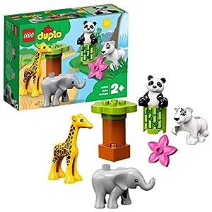 LEGO - DUPLO Cuccioli della savana, Giocattolo per Bambini 2-5 Anni, Idea Regalo, 10904 5702016367683 LEGO