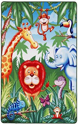 dschungel teppich Lovely Kids LK-6 67x125cm Kinderteppich