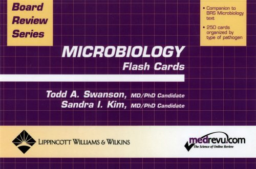 BRS Microbiology Flash Cards (Board Review Series) by Todd Swanson (2003-06-10)
