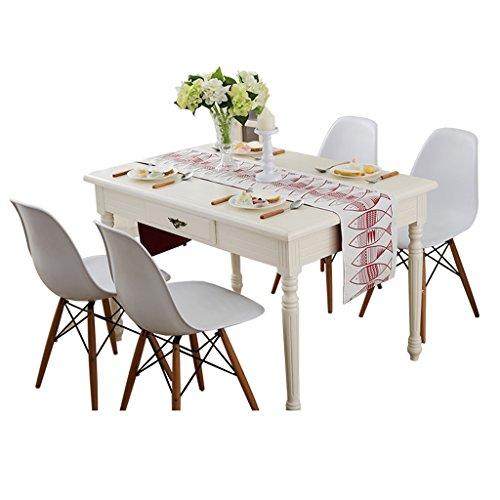 Table Runner Tea Table TV Cabinet Moderne Mode Simple Méditerranée (Couleur : Rouge, taille : 32 * 150cm)