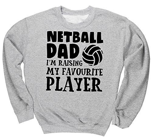 hippowarehouse-netball-dad-im-raising-my-favourite-player-unisex-jumper-sweatshirt-pullover
