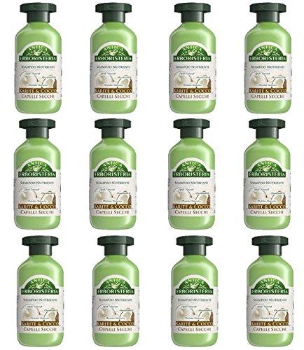 12 x ANTICA ERBORISTERIA Shampoo Nutriente Karité & Cocco 250 ML