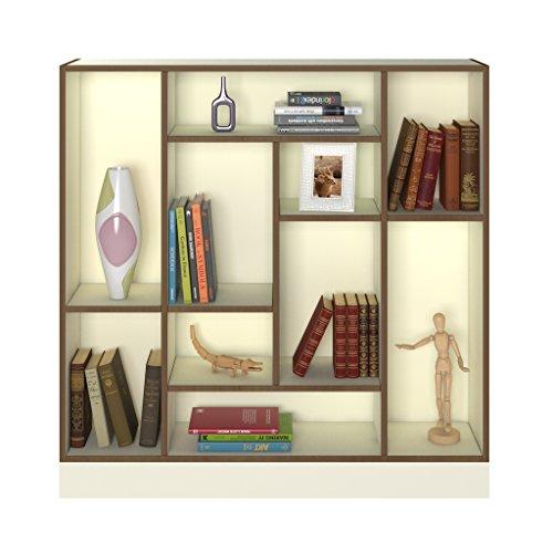 Forzza Grant Bookshelf (White)