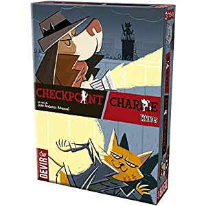 Devir – Checkpoint Charlie, juego de cartas, edición española (BGCHECK)