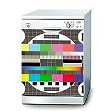 Decusto Autocollant Test Pattern–Autocollant pour lave vaisselle