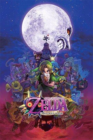 Legend Of Zelda, the-Poster-Majoras Mask + Poster a sorpresa