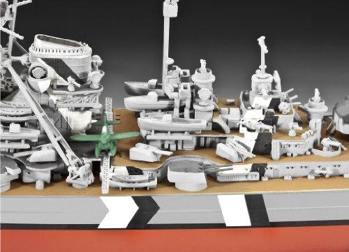 Imagen 3 de Revell 05098 Bismarck - Acorazado a escala [Importado de Alemania]
