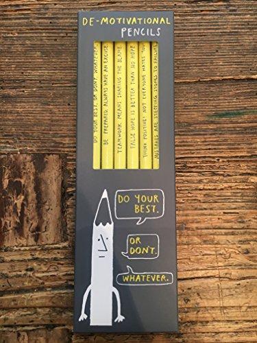 Sharp and Blunt Bleistifte Set, de-motivational- New -