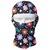 Hot Flowers Sunscreen Full Face Mask Windproof Ski Mask Motorcycle Mask Balaclava...