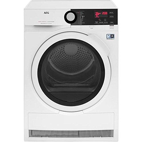 AEG T8DBE941R 8kg AbsoluteCare Heat Pump Tumble Dryer White
