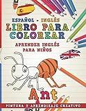 Libro para colorear Español - Inglés I Aprender inglés para niños I Pintura y aprendizaje creativo (Aprender idiomas)
