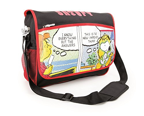 Bolso de hombro Snoopy mochila escolar y para niños mochila mochila escolar   incluye dos bolsillos de malla a los lados y mucho espacio de almacenamiento   acolchado óptimo de las correas de transpo