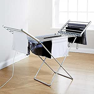 Daewoo Foldable Portable Heated Clothes Airer - 230W, 10kg