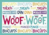 Waggy Tails - Woof Woof - Standard Futtermatte