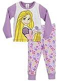 Disney Rapunzel - Pigiama a maniche lunghe per ragazze - Rapunzel - 3 - 4 anni