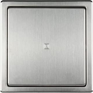 Haco quality revision door inspection flap of stainless steel: 150 mm x 150 mm, brushed surface.