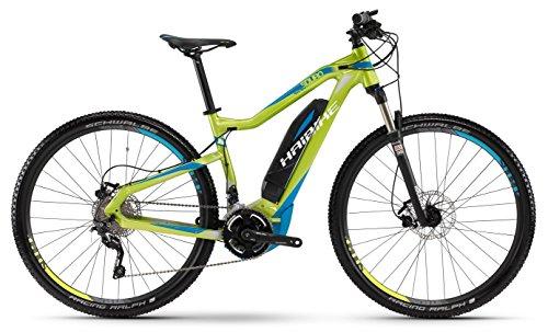 E-Bike Haibike SDURO HardNine RC 400Wh/250Watt/36V 29' 20-Gang lime/cyan/weiß