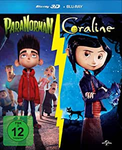 Coraline & Paranorman 3D-Boxset [3D Blu-ray]