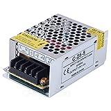 CHINLY AC 110/220V Zu DC5V 5A 25W LED-Treiber Schalter Netzteil Transformator Stromversorgung für WS2811 2801 WS2812B WS2813 APA102 LED-Leiste