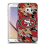 Head Case Designs Offizielle NFL Camou San Francisco 49Ers Logo Ruckseite Hülle für Samsung Galaxy S7
