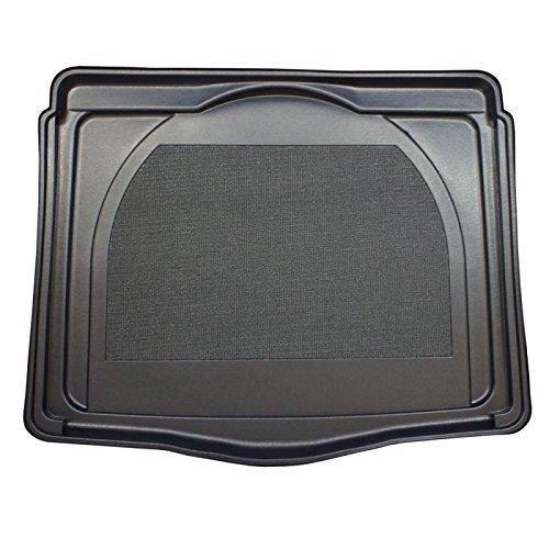 ZentimeX Z747297 Vasca baule su misura con superficie scanalata e integrato tappeto antiscivolo