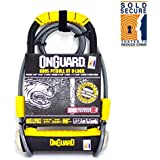 Onguard Pitbull 8005 DT Bike Lock & Cable - High Security Gold Sold Secure