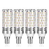 Wedna lampadine LED di mais, E14 15 W 1500LM, 120W equivalenti a incandescenza, Luce Bianca Calda 3000K, Non Dimmerabile, Risparmio Energetico Mais Lampadina - 4 Pezzi