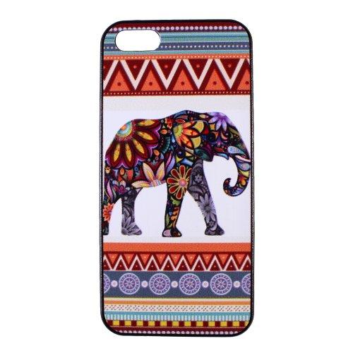 Elephant iphone 5 case - Tribal Aztec Pattern Hard iPhone Case 5s iPhone Cover 5 Hard Case Back Cover 5S